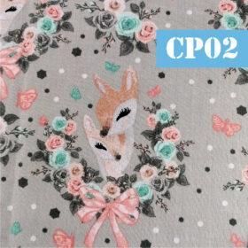 cp02 caprioara coroana flori