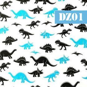 dz01 dinozauri turcoaz si negru