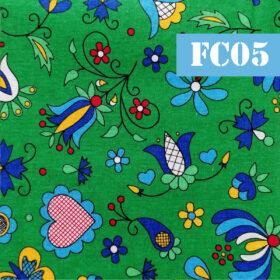 fc05 inimioare flori si fluturi fundal verde