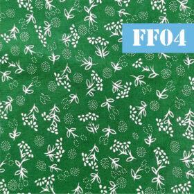 ff04 flori marunte fundal verde