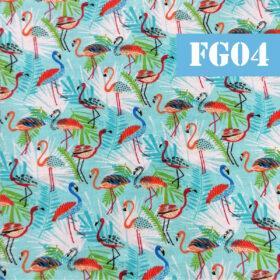 fg04 flamingo fundal bleu
