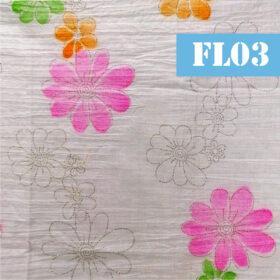 fl03 flori cu mici strasuri argintii