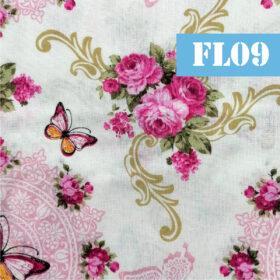 fl09 flori roz si fluturi
