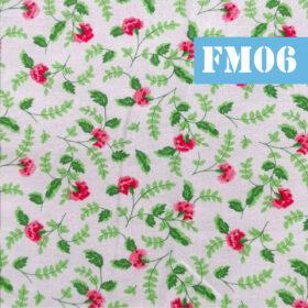 fm06 frunze si flori roz