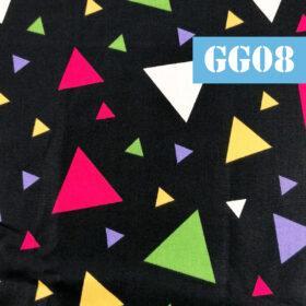 gg08 triunghiuri colorate fundal negru