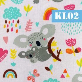 kl02 koala fundal alb