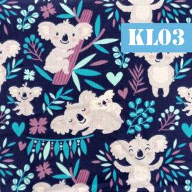kl03 koala fundal albastru