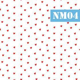 nm04 inimioare rosii marunte fundal alb
