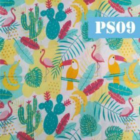ps09 tucano si flamingo frunze