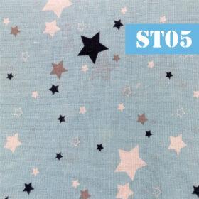st05 stelute fundal bleu