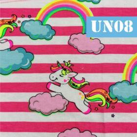 un08 unicorni curcubeu dungi