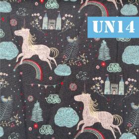 un14 unicorni fundal negru