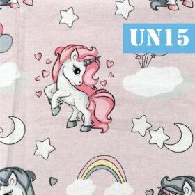 un15 unicorni fundal roz praf baloane