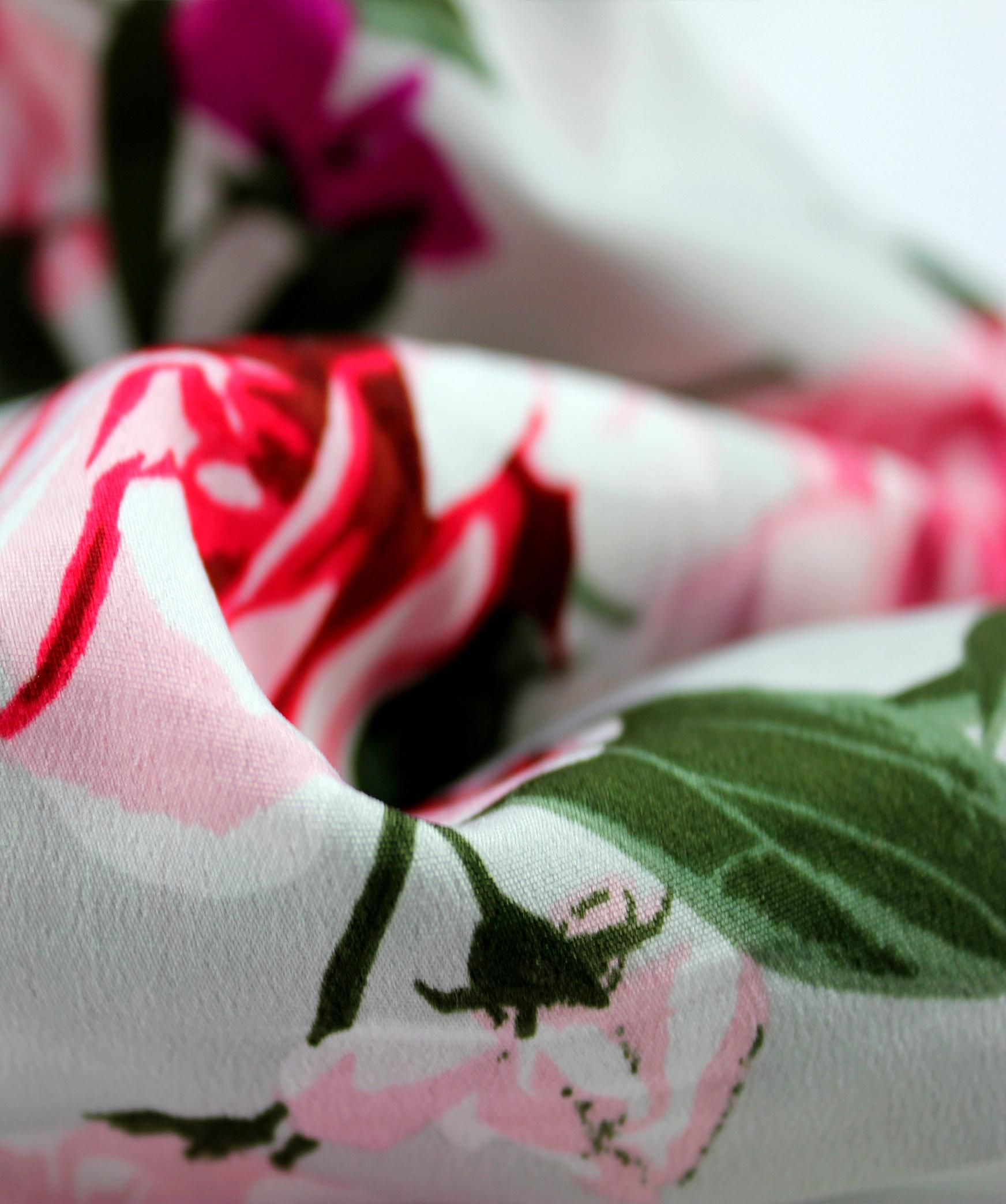 Masca reutilizabila si Esarfa 2in1 imprimeu floral