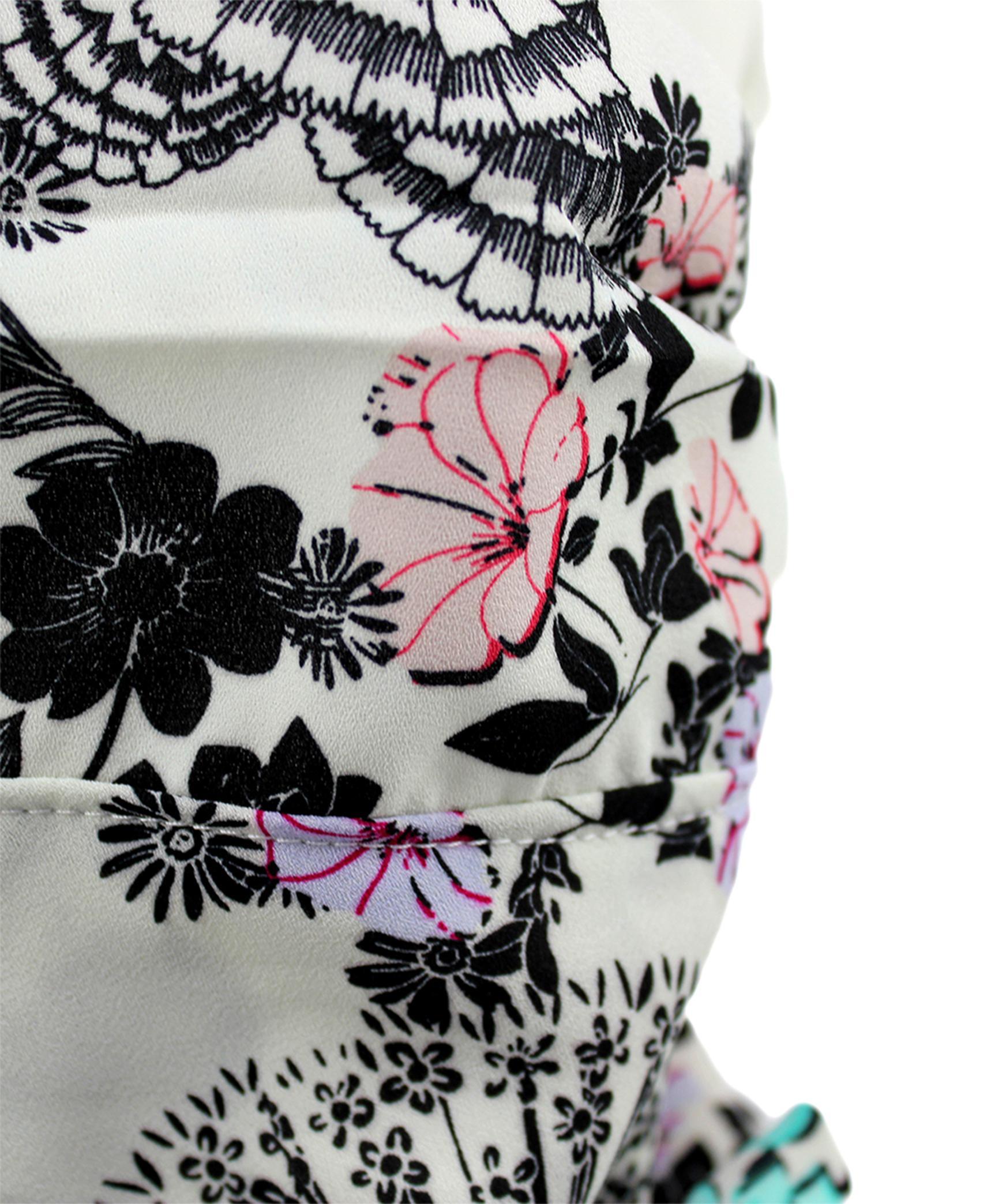 Masca dama 2in1 esarfa cu flori (copiază)