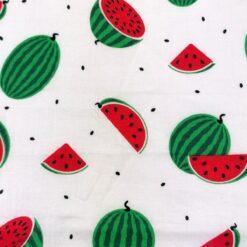 masca cu pliuri pentru copii imprimeu cu pepene rosu