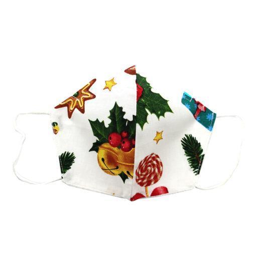 Set 6 masti cu imprimeuri de Craciun pentru copii 3-6 ani