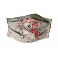 masca protectie cu unicorn