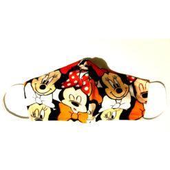 masca protectie fata pentru copii cu mikey si minnie