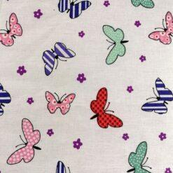 masti anatomice cu imprimeuri colorate cu fluturi