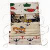 Set 4 Masti colorate cu pliuri pentru copii 7-12 ani, Set 4 Masti colorate cu pliuri pentru copii 3-6 ani, masti cu pliuri pentru copii cu desene