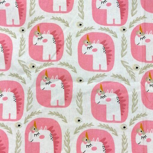 masti din bumbac cu unicorn pentru copii